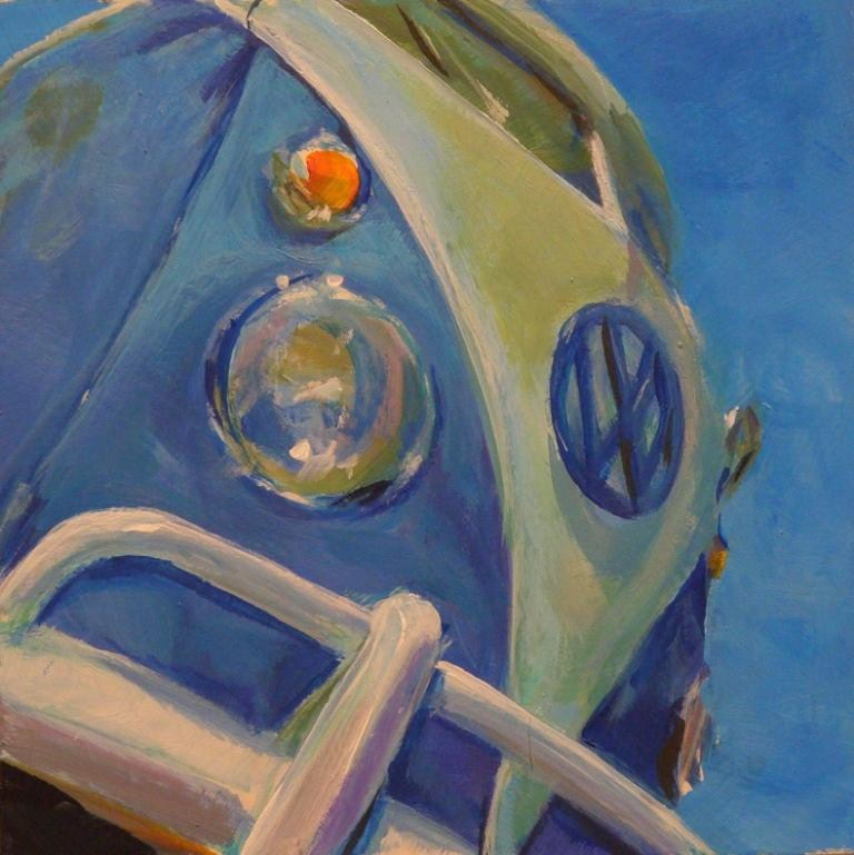 """65 SPLITTY"" original fine art by Brian Cameron"