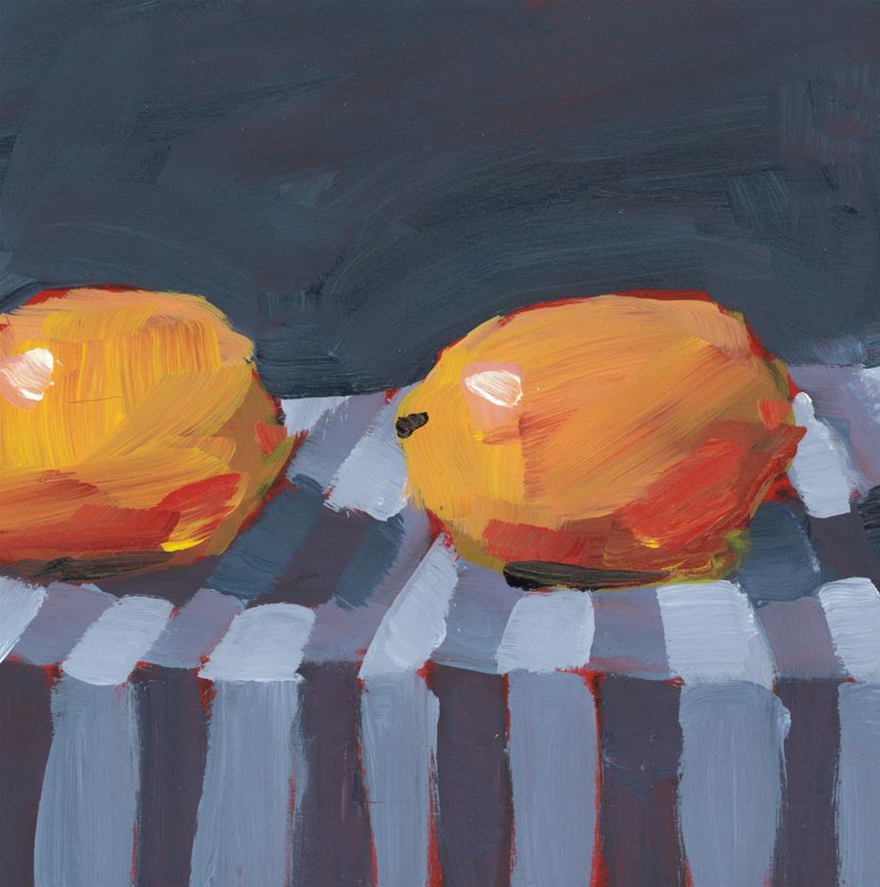 """1125: Two Tears"" original fine art by Brian Miller"