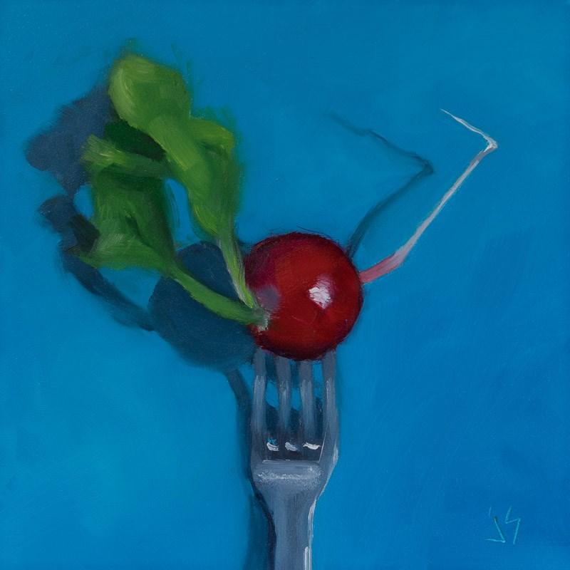 """""""How Rad"""" original fine art by Johnna Schelling"""