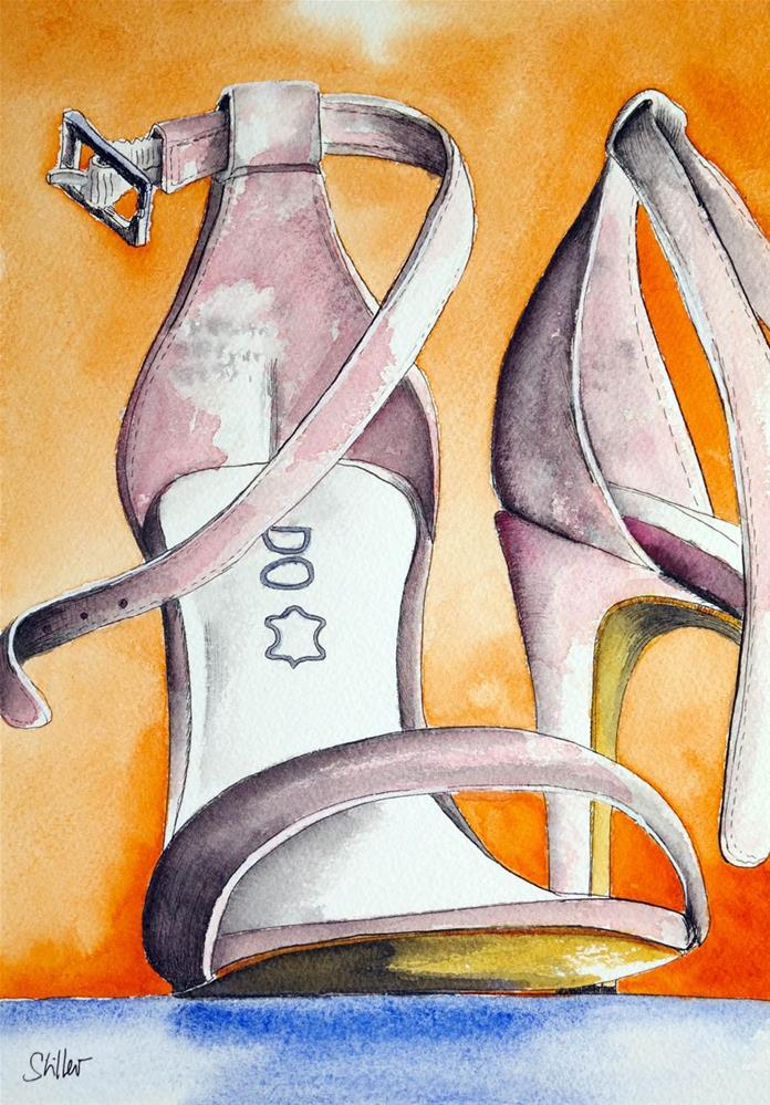 """3135 Shoe-bi-doo"" original fine art by Dietmar Stiller"