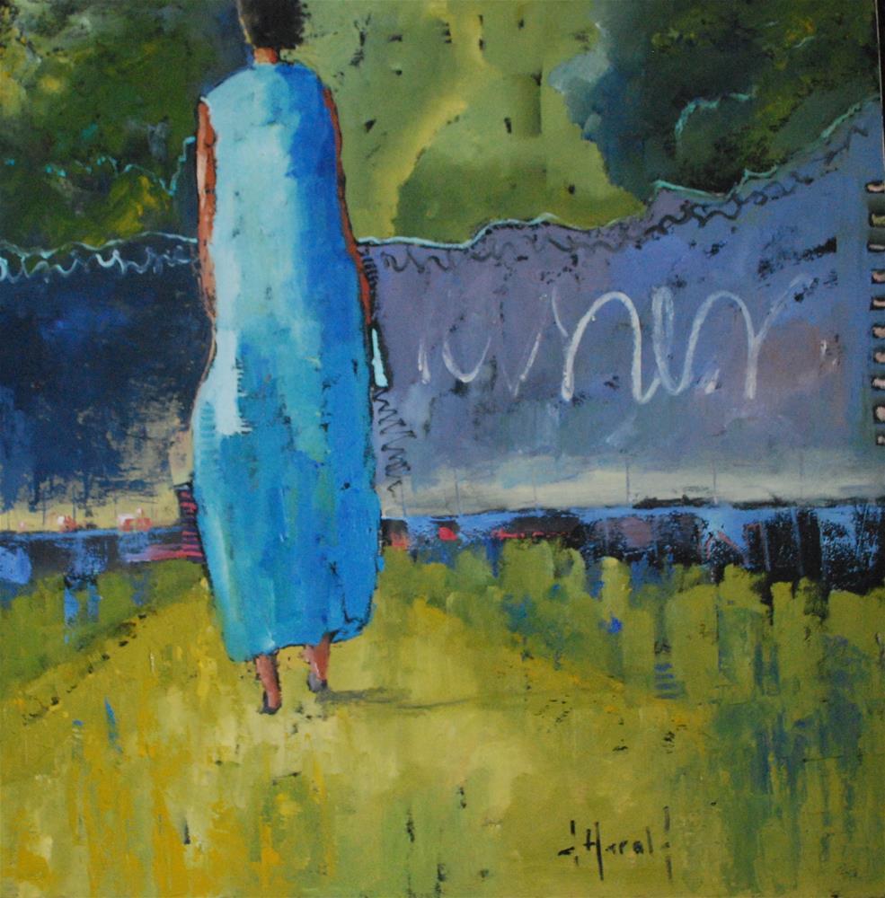 """""""Moon Shine"""" original fine art by Deborah Harold"""
