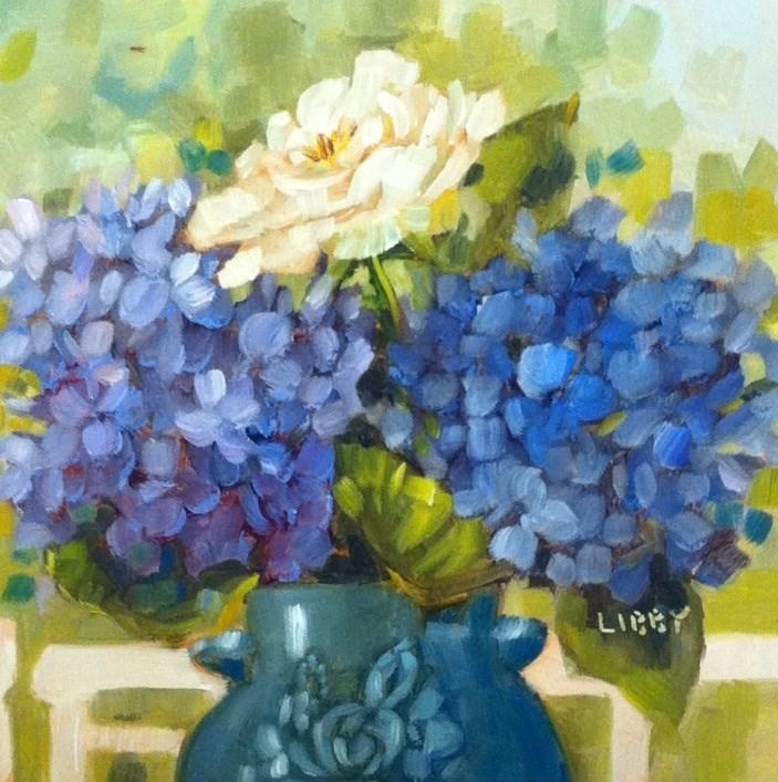 """Antique Vase"" original fine art by Libby Anderson"