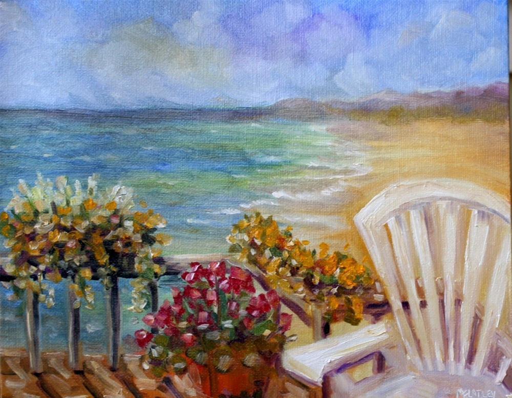 """Happy Places"" original fine art by Maggie Flatley"