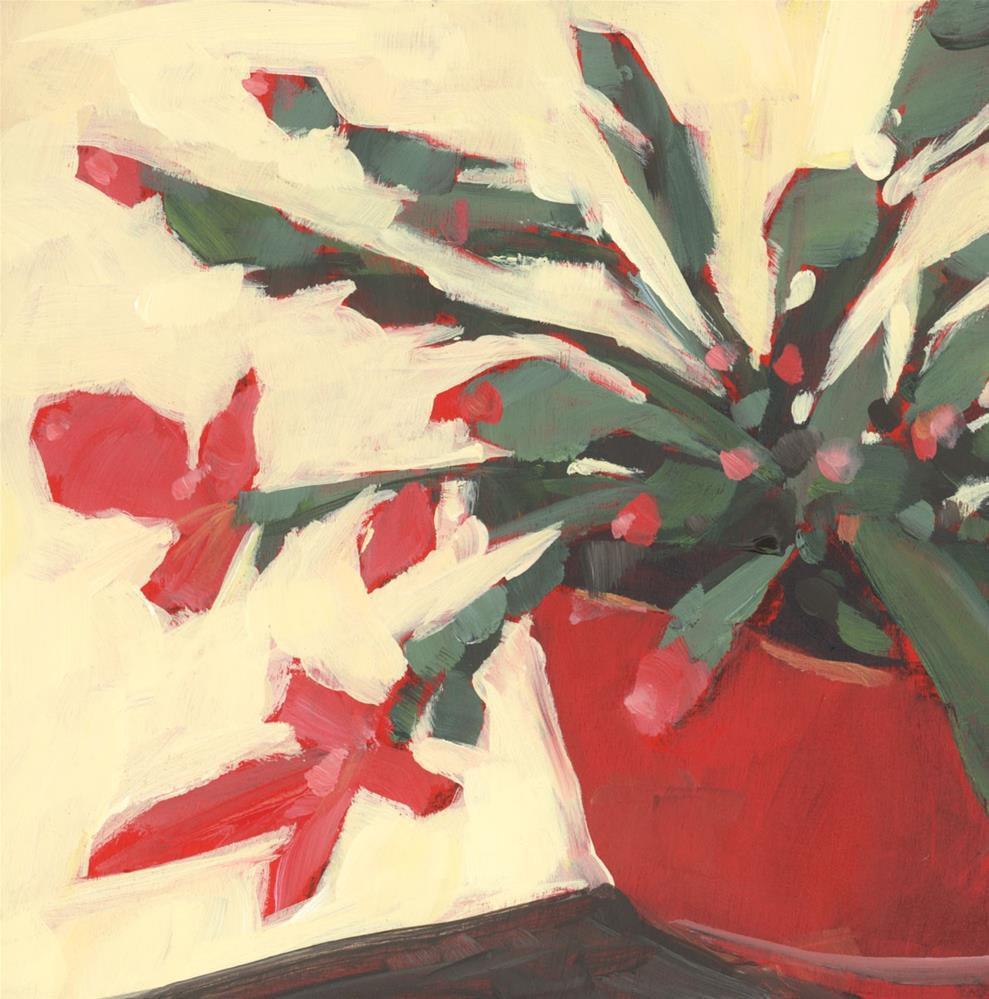 """0998: Sister Cactus"" original fine art by Brian Miller"