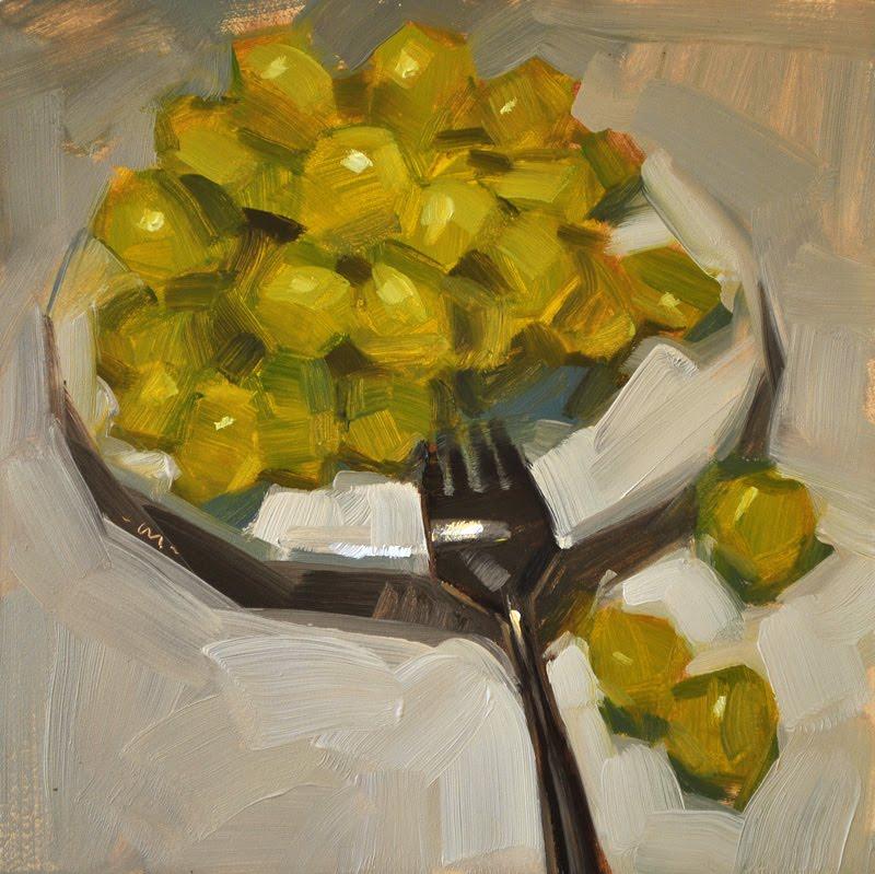 """Pile of Sweet"" original fine art by Carol Marine"