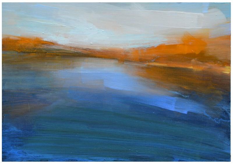 """""""Upstate"""" original fine art by Steven Goodman"""