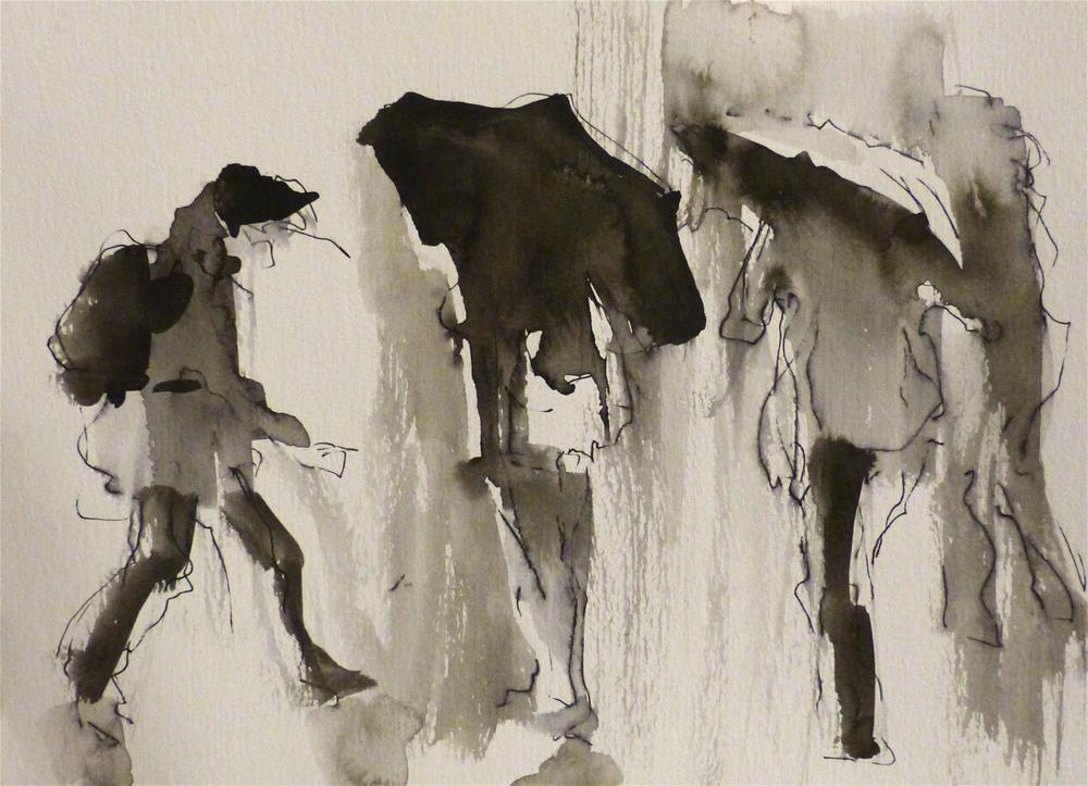 """urban1"" original fine art by Katya Minkina"