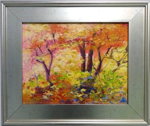 """1019 - Autumn Wood"" original fine art by Sea Dean"