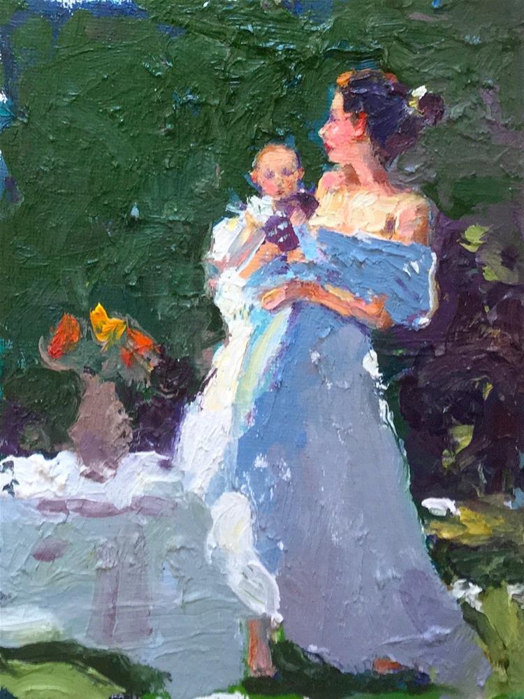 """""""Baby"""" original fine art by Marileigh Schulte"""