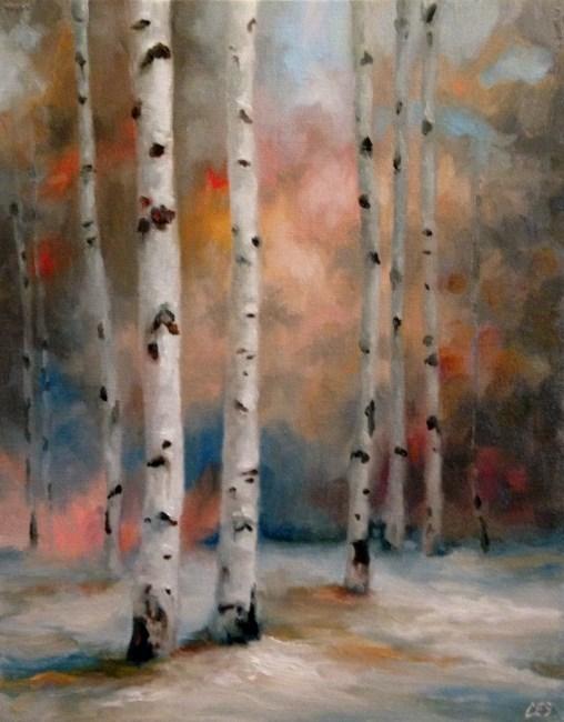 """Autumn Meets Winter"" original fine art by ~ces~ Christine E. S. Code"