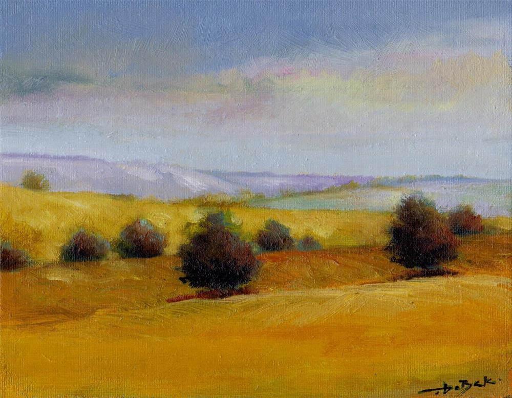 """afternoon"" original fine art by Mark DeBak"