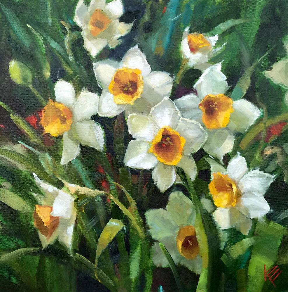 """Springtime Memories"" original fine art by Krista Eaton"