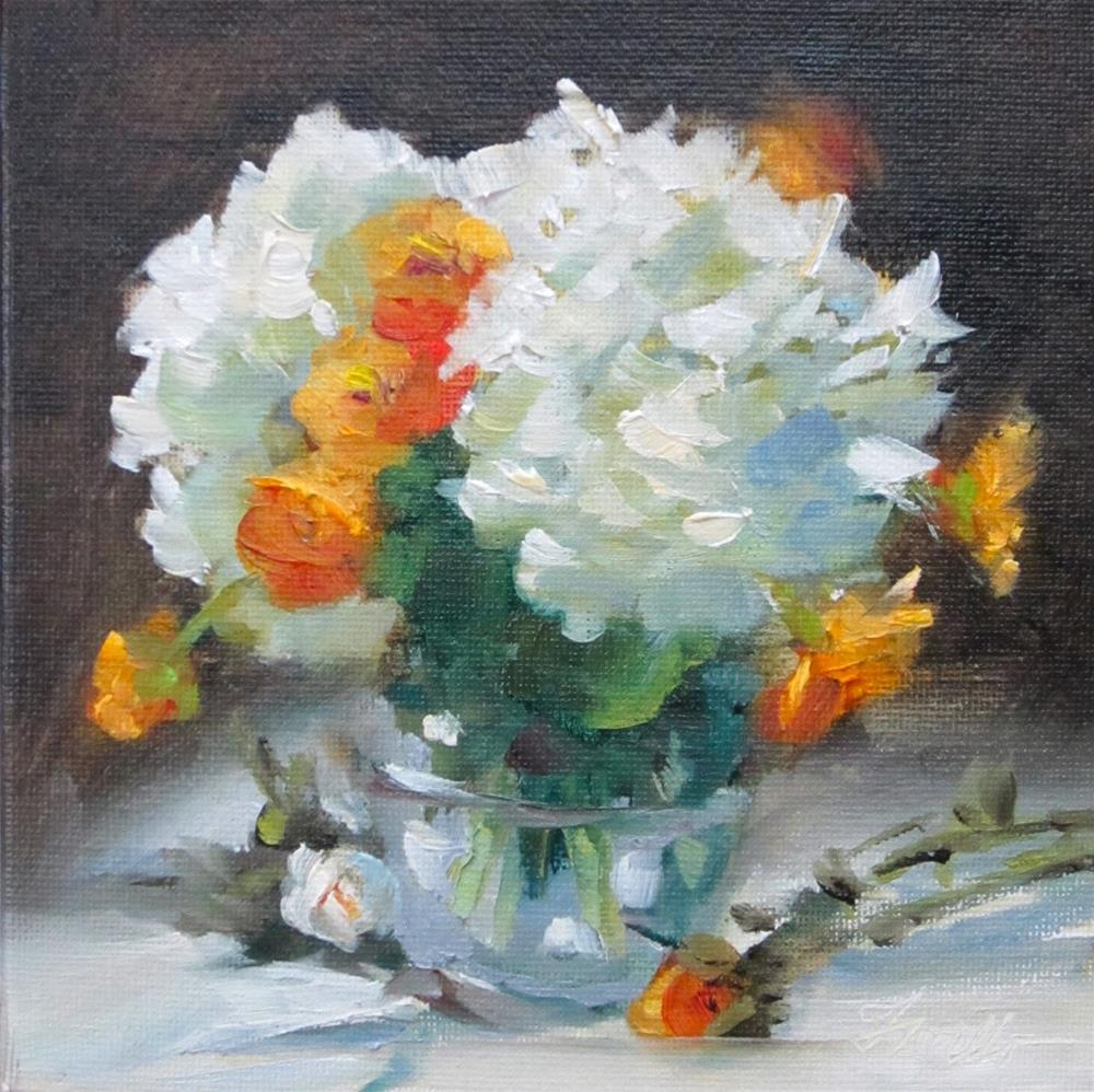 """A little piece of Joy"" original fine art by Pat Fiorello"