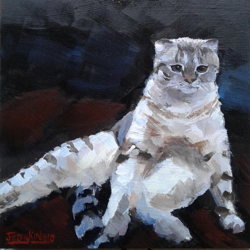 """Regret"" original fine art by Jenny Kinberg"