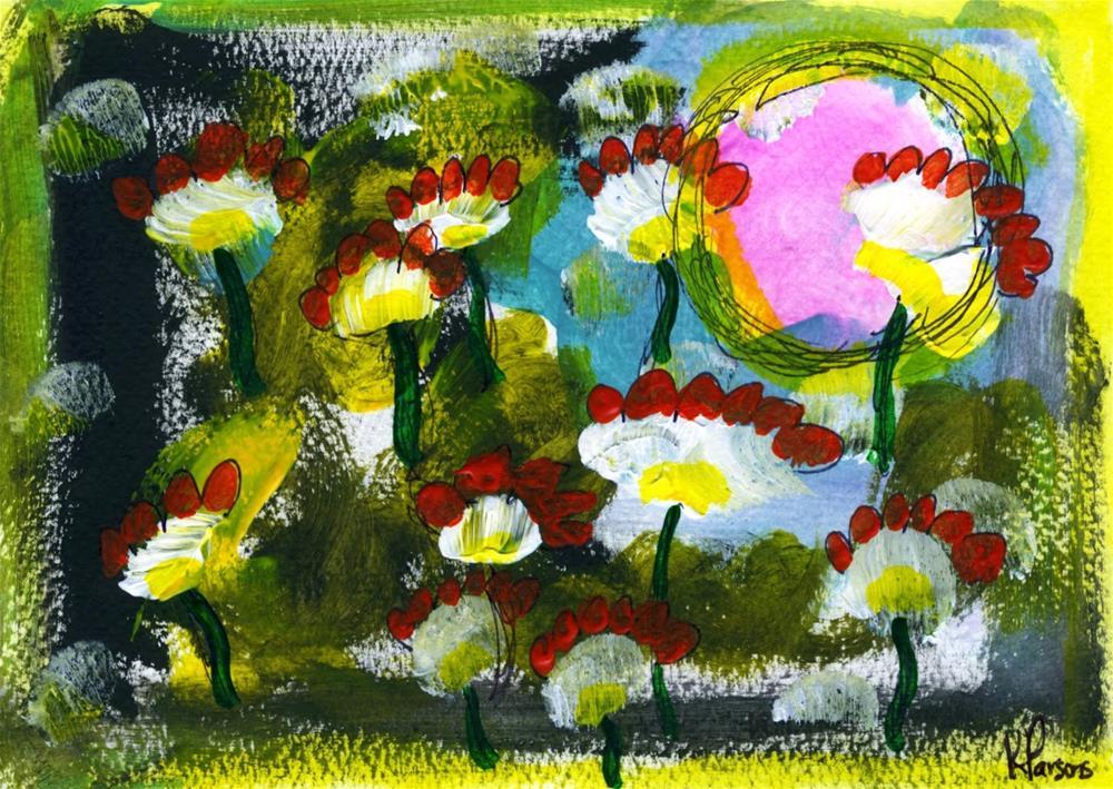 """Sunning Themselves"" original fine art by Kali Parsons"