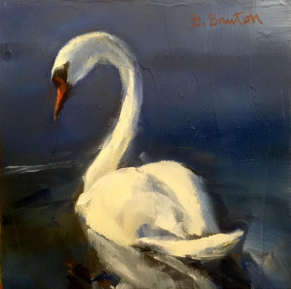 """Gracefully"" original fine art by Gary Bruton"