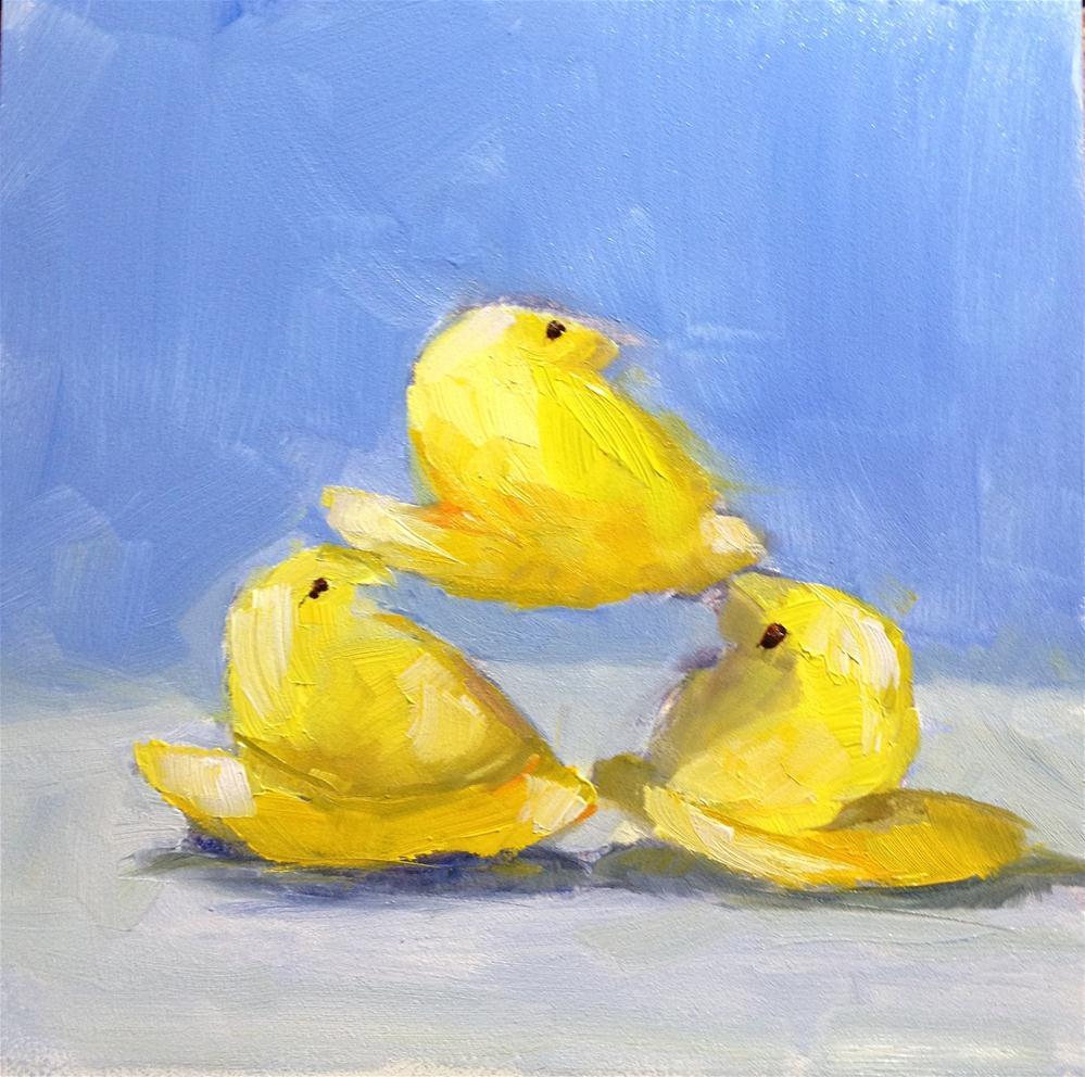 """life is a balancing act"" original fine art by Carol Josefiak"