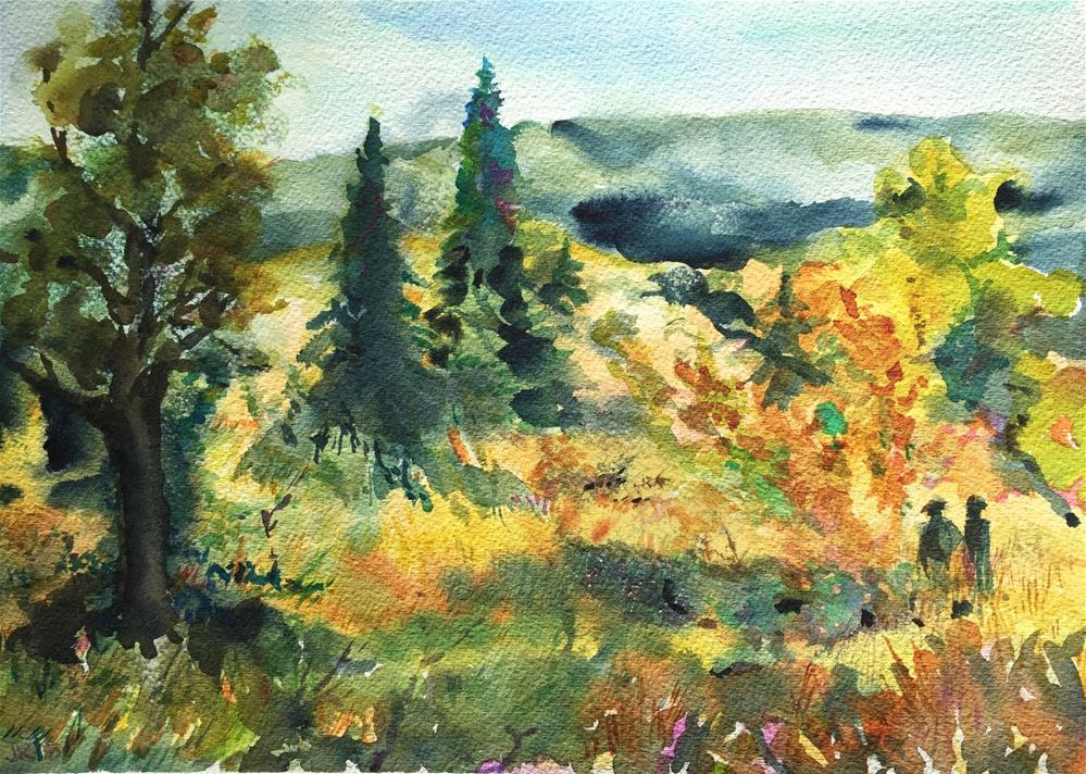 """Last Day of Summer"" original fine art by Jean Krueger"