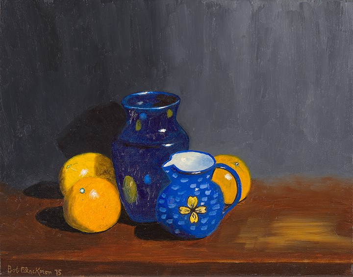 """Elsie's Pitcher"" original fine art by Bob Blackmon"