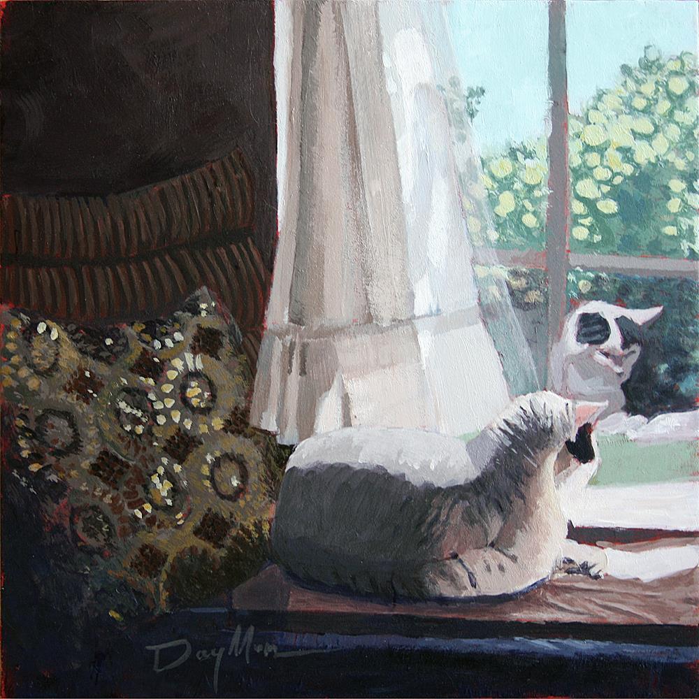 """Tish"" original fine art by Mike Daymon"