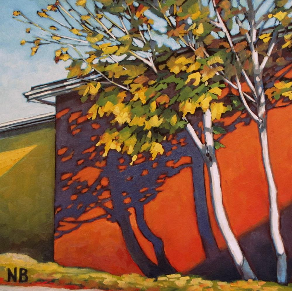 """October Sun"" original fine art by Nora Bergman"
