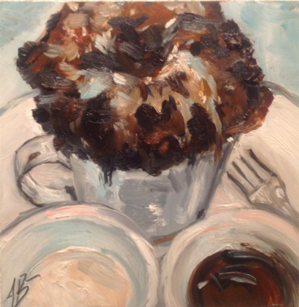 """Dessert Lisa"" original fine art by Annette Balesteri"