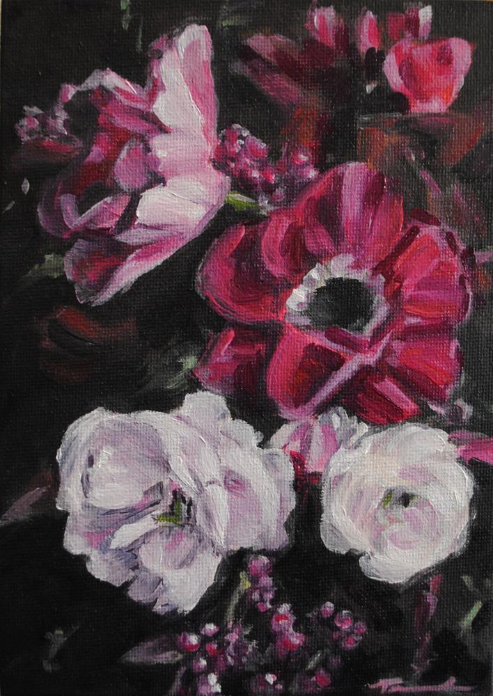 """""""Petals"""" original fine art by Tamanda Elia"""