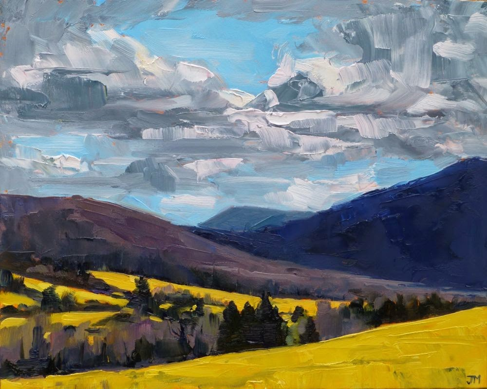 """Berkshires"" original fine art by Jessica Miller"