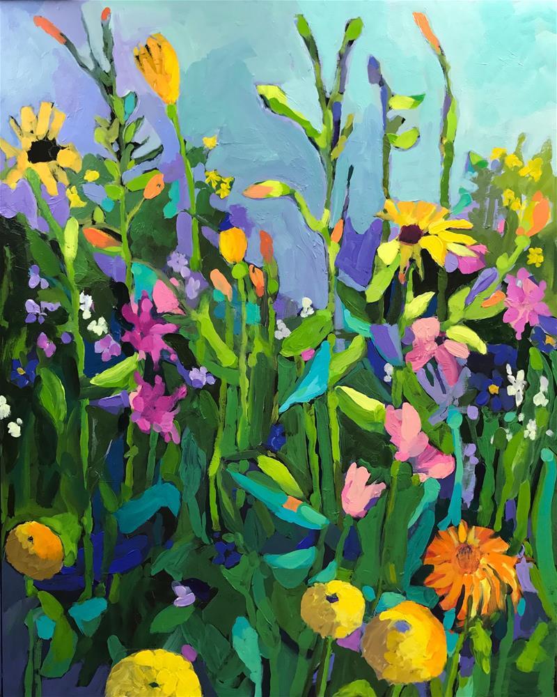 """Spring"" original fine art by Patti Tapper"