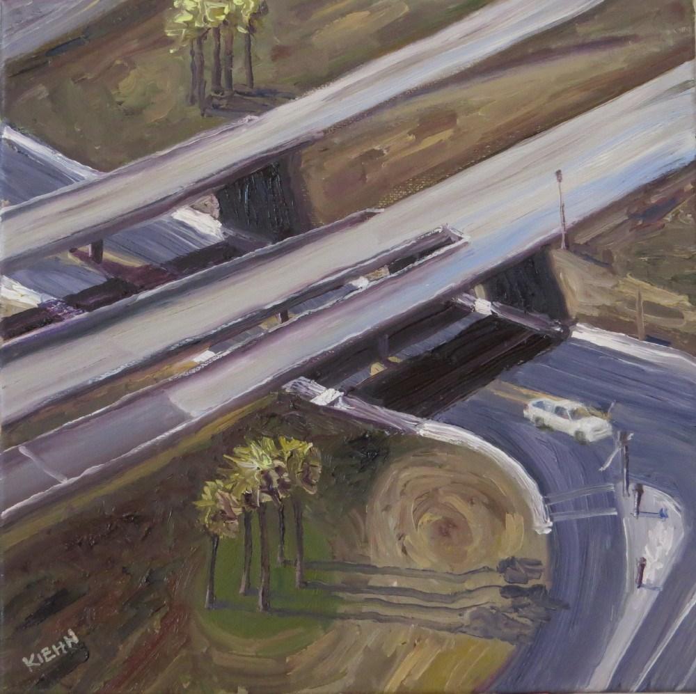"""Crossroads"" original fine art by Richard Kiehn"