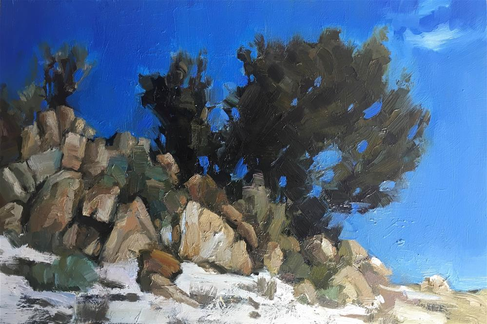 """""""Exploring-Idaho7"""" original fine art by Katya Minkina"""