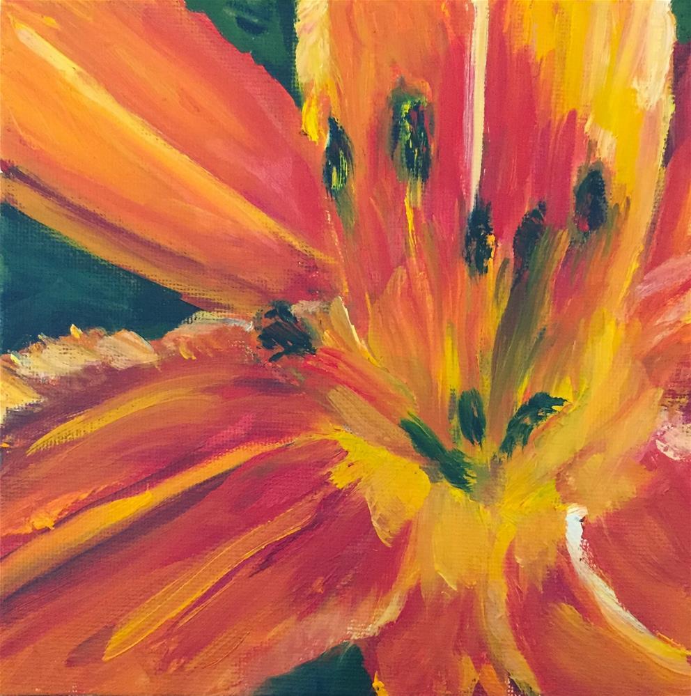 """""""Burst of Bright"""" original fine art by Renee Robison"""