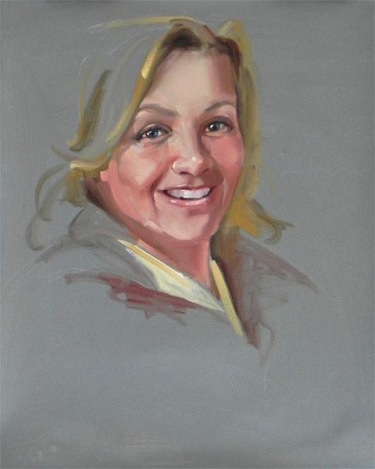 """Kerrie"" original fine art by Cheryl Wilson"