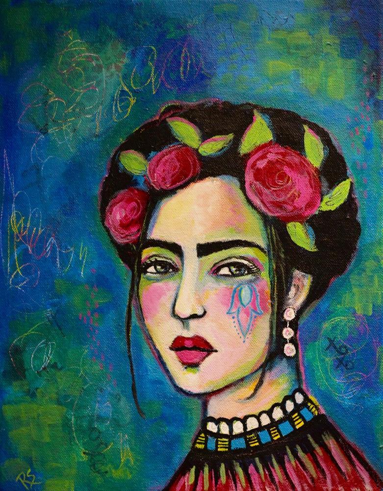 """She's Only In Dreams"" original fine art by Roberta Schmidt ArtcyLucy"