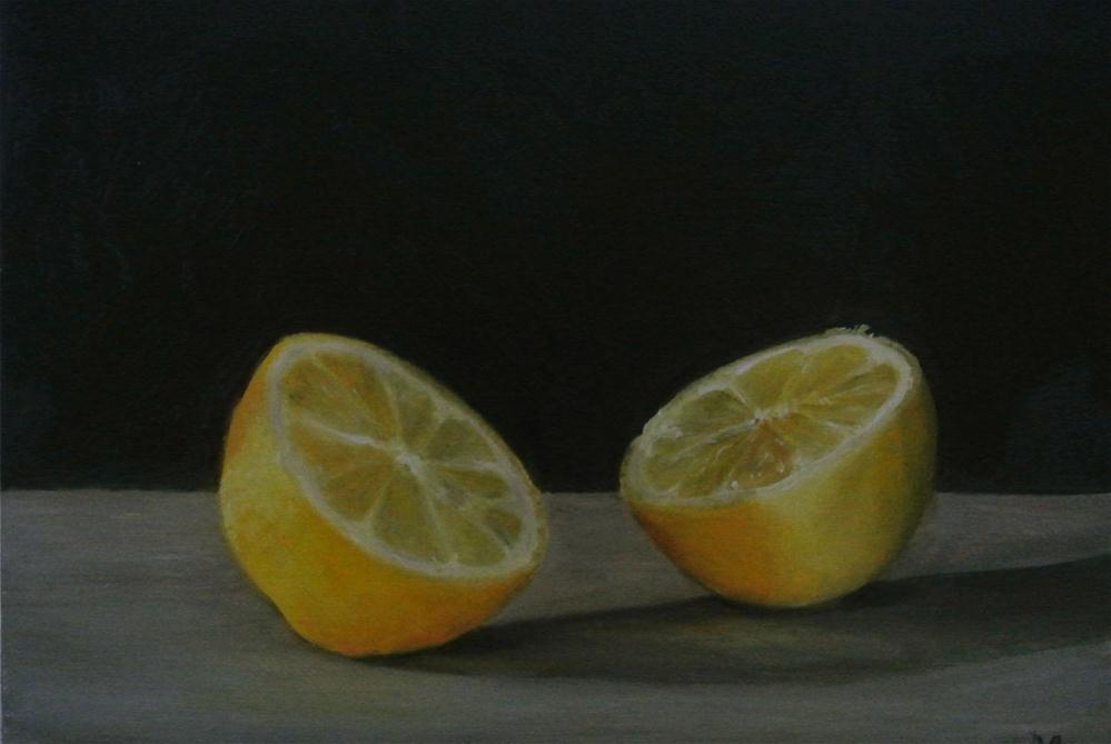 """Lemon - not half!"" original fine art by James Coates"