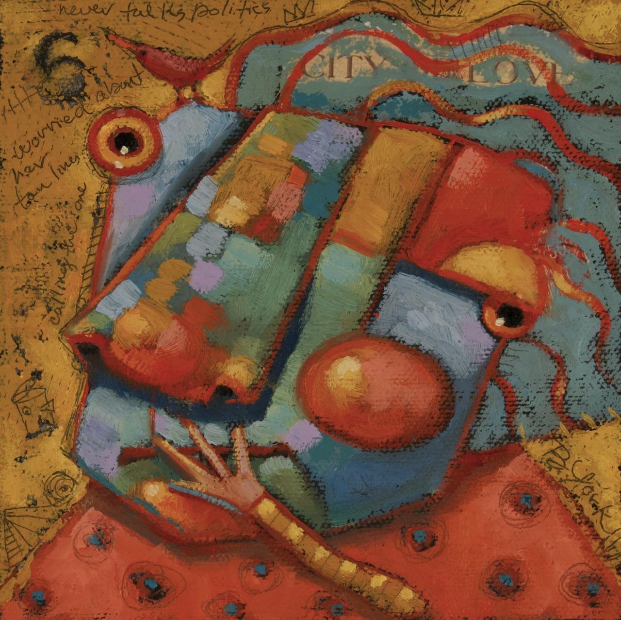 """Sweet Song"" original fine art by Brenda York"