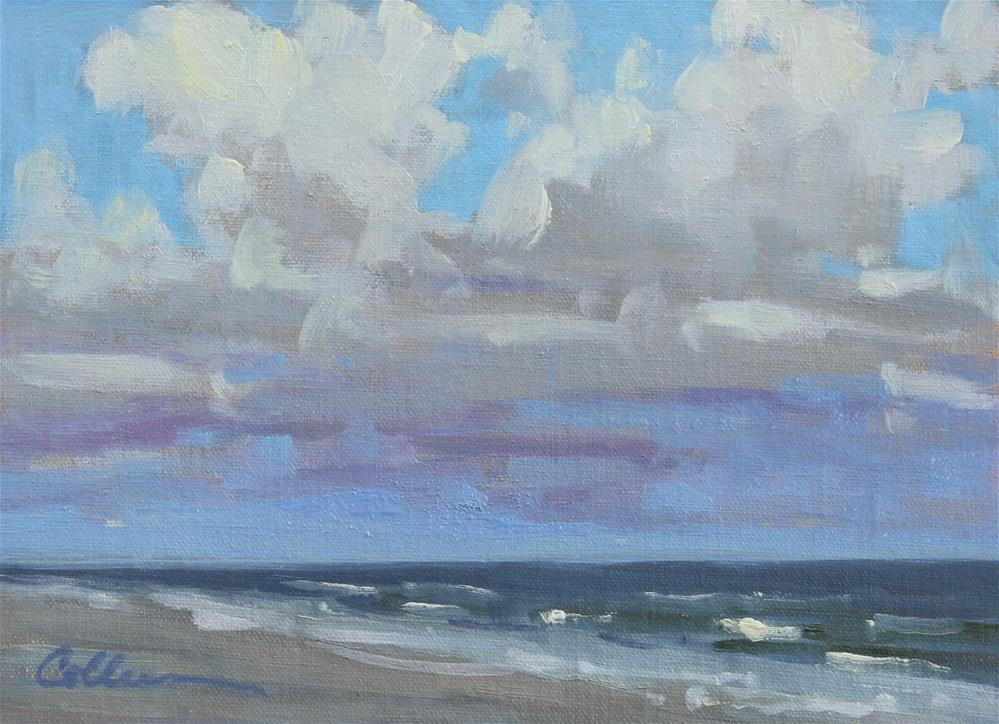 """""""A Day for the Beach"""" original fine art by Colleen Parker"""
