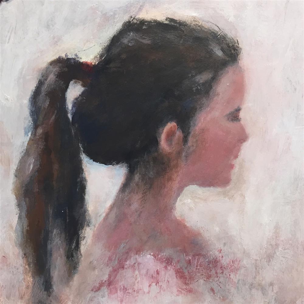 """""""Lacey"""" original fine art by Melissa Gresham"""