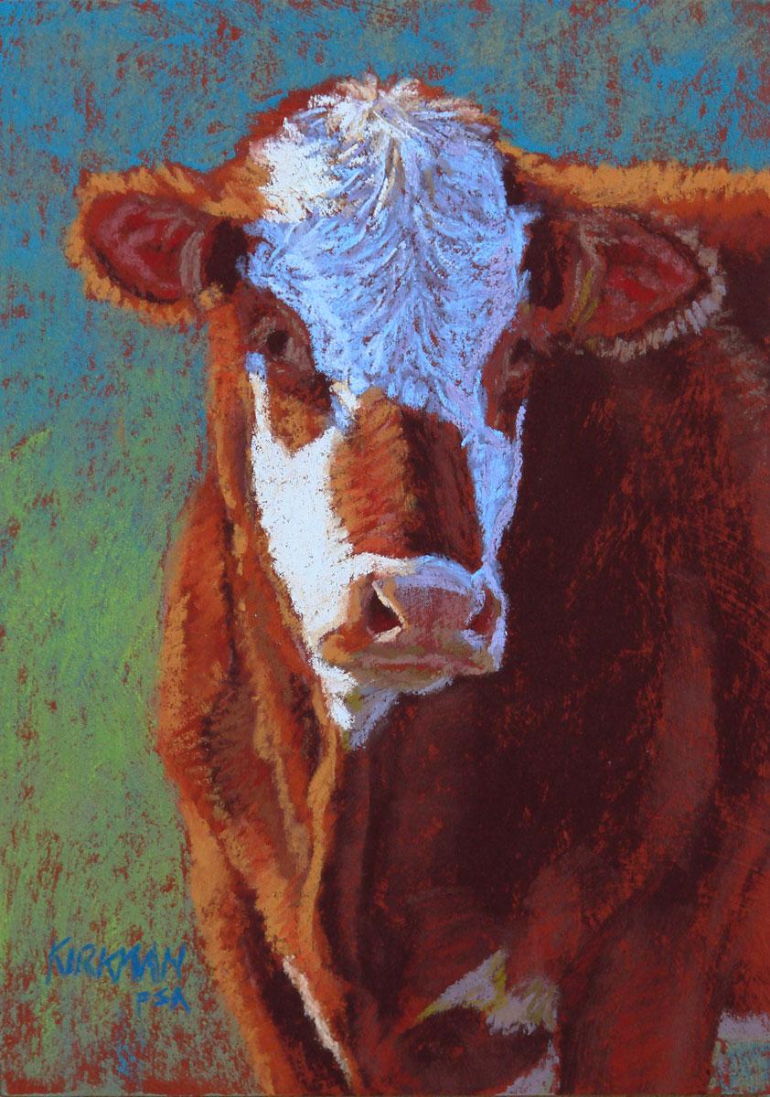 """""""Ginger"""" original fine art by Rita Kirkman"""
