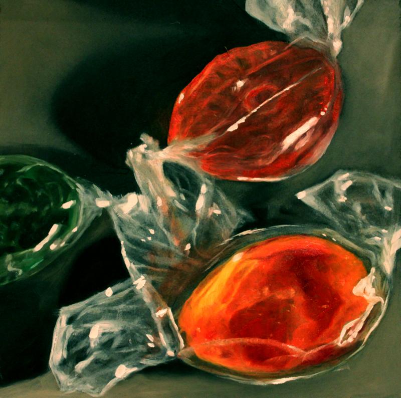 """""""Sweeties Trio"""" original fine art by Lauren Pretorius"""