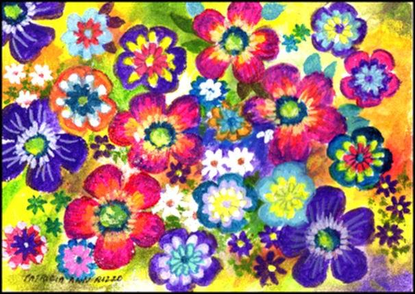 """""""I'm Thankful For..."""" original fine art by Patricia Ann Rizzo"""