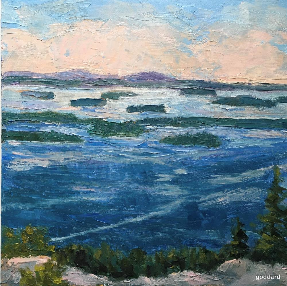 """Island Trails"" original fine art by Shari Goddard Shambaugh"
