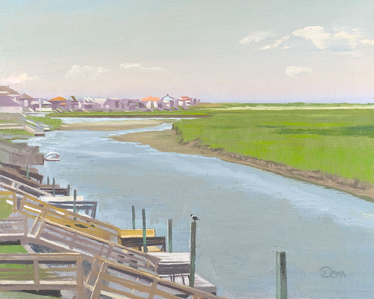 """View from Serendipity"" original fine art by Don Stewart"