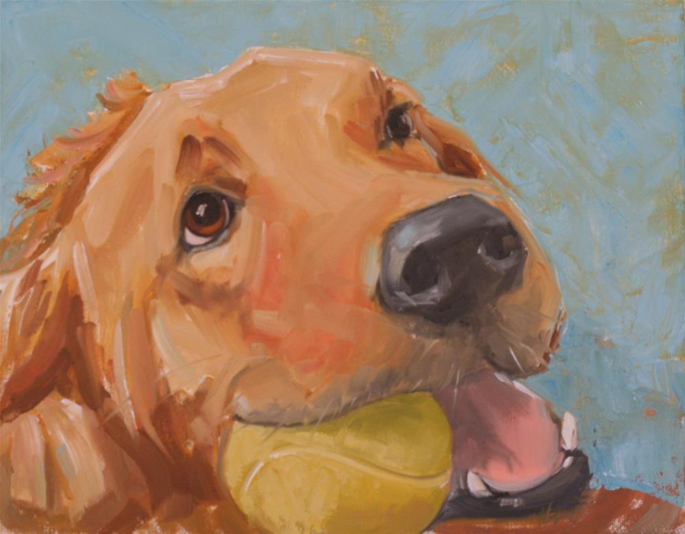 """""""big chaw"""" original fine art by Carol Carmichael"""