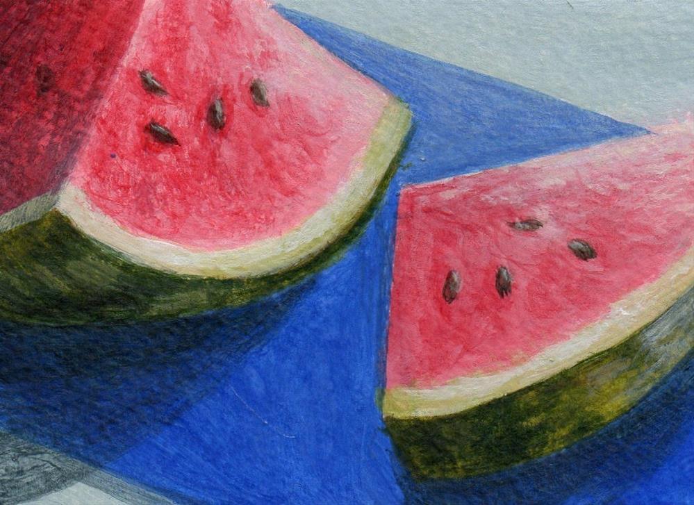 """""""Fresh Cut"""" original fine art by Debbie Shirley"""