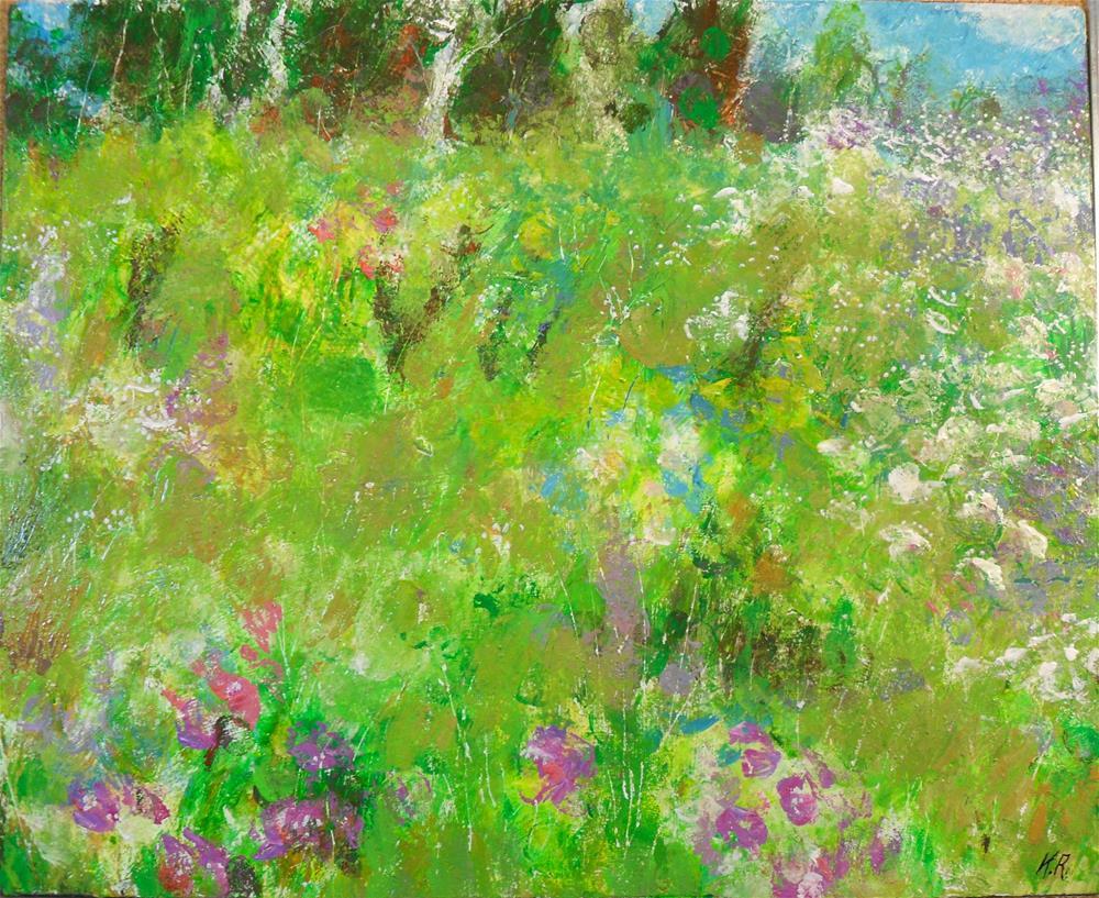 """Indian Summer"" original fine art by Karen Roncari"