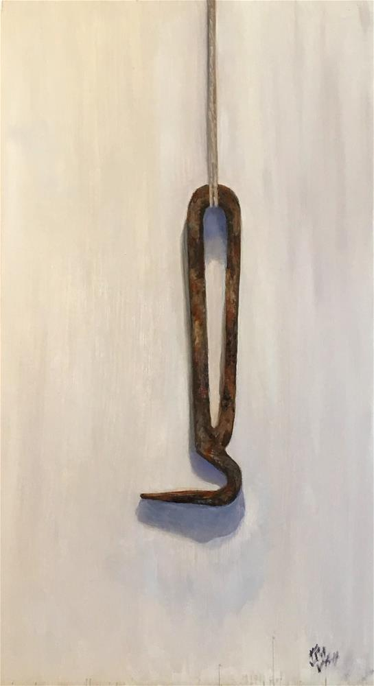 """Hoof Pick"" original fine art by Karen Stitt"