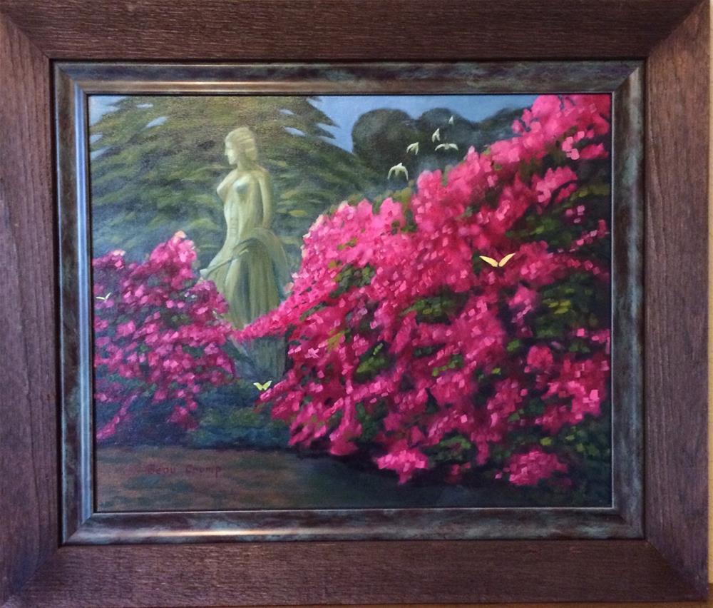 """Bayou Bend Azaleas "" original fine art by Beau Crump"