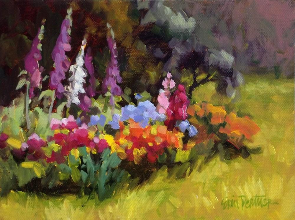 """""""Cluster of Color"""" original fine art by Erin Dertner"""