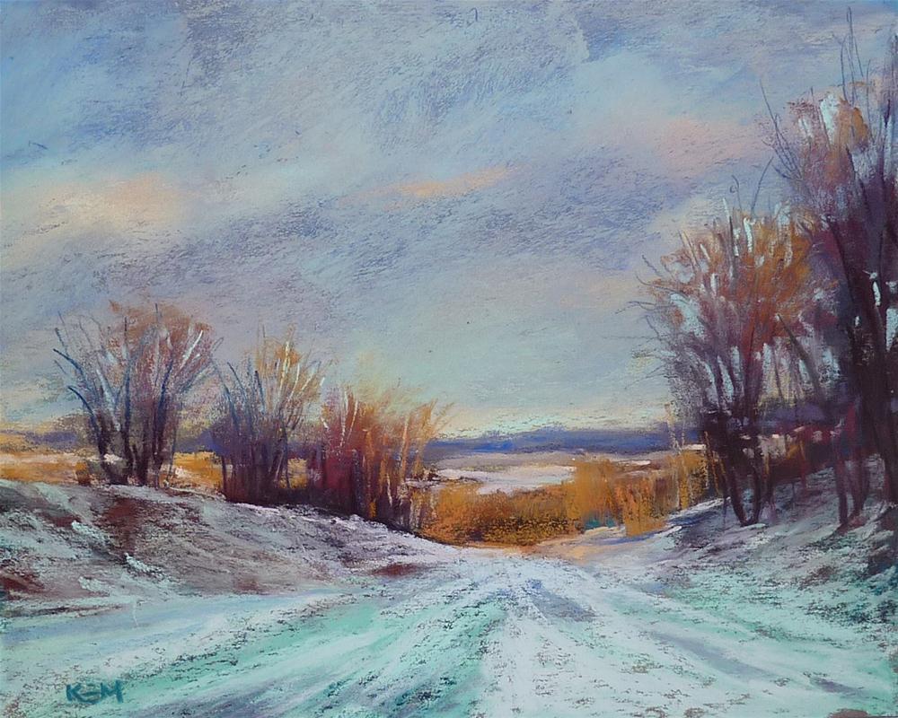 """Three Art Tasks to do Before the New Year"" original fine art by Karen Margulis"